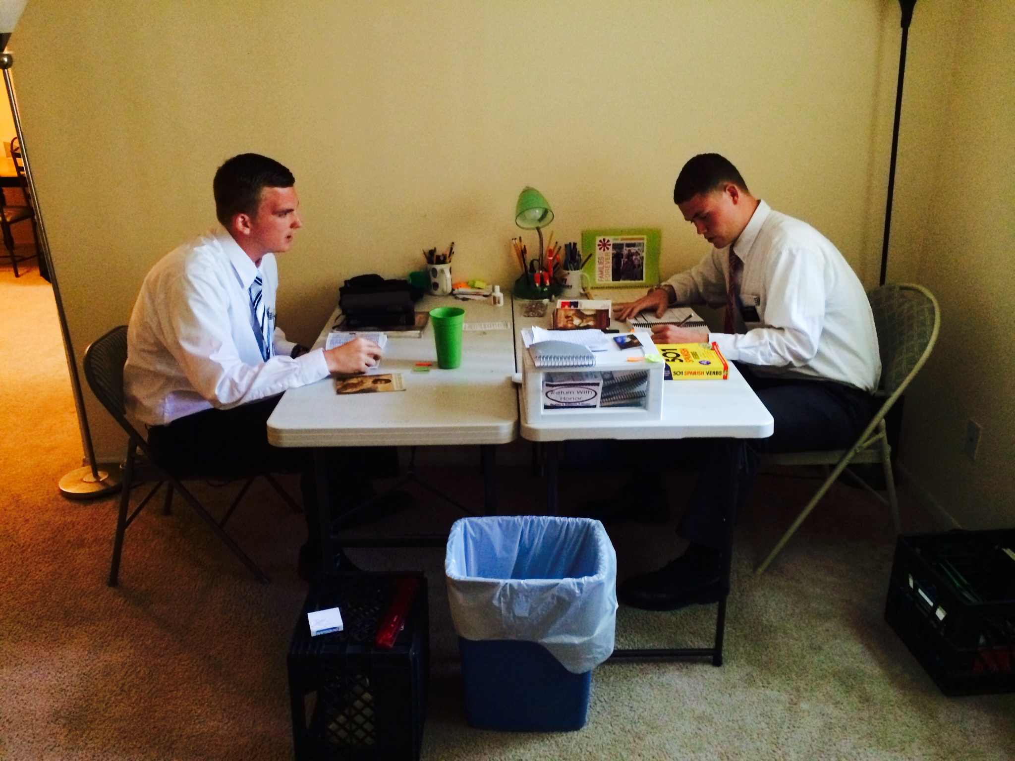 A Day in the Life of Mormon Missionaries in Baltimore