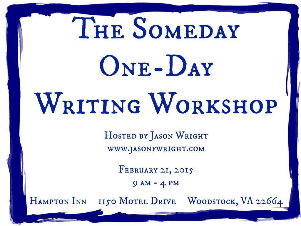 Someday One-Day Workshop Series 2015