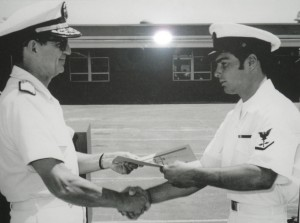 Frank Phillips graduates from the Navy's BUD/S.