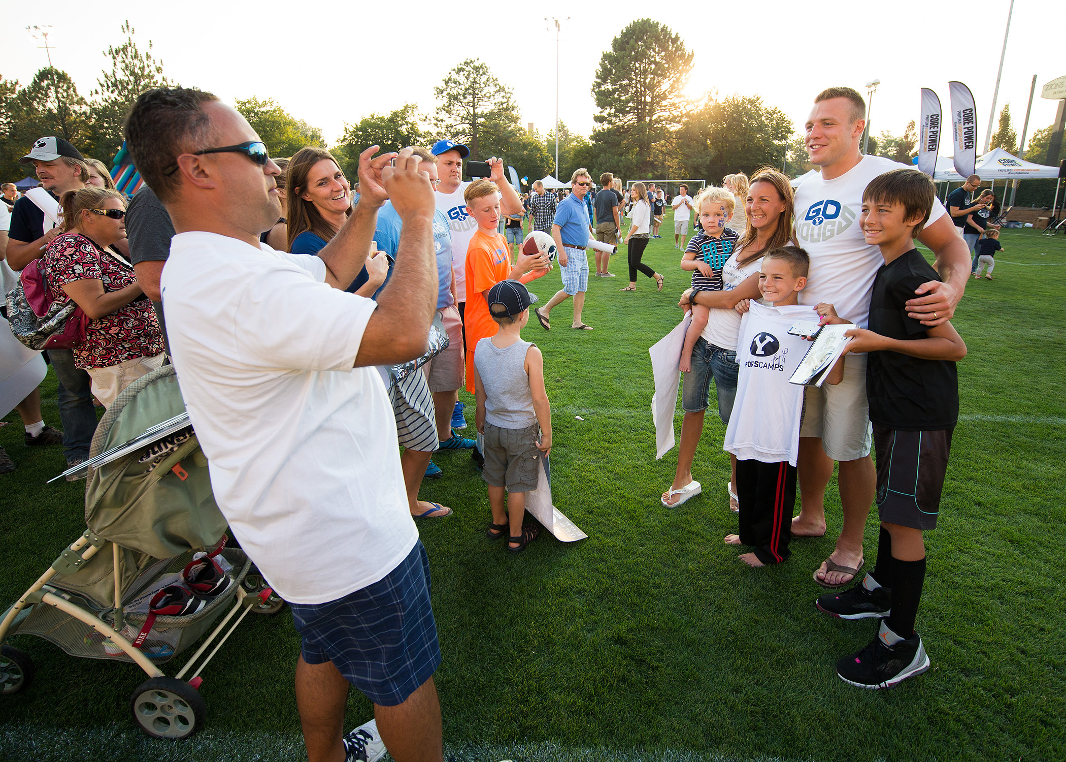 BYU QB Taysom Hill talks about his faith, trials and ...Taysom Hill Kids